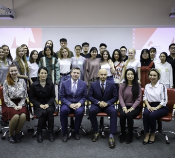 The Language and Culture School for Chinese Students started in Minin University