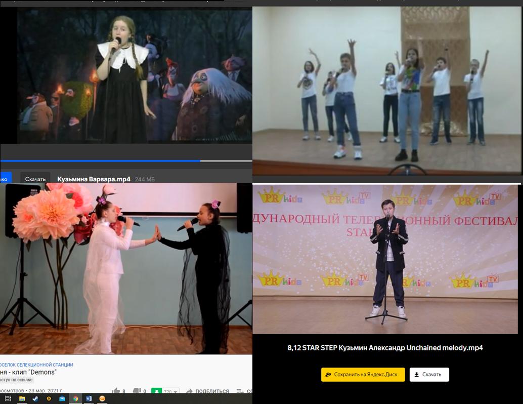 Итоги дистанционного конкурса песен на иностранных языках «Music Stars of - 2021»