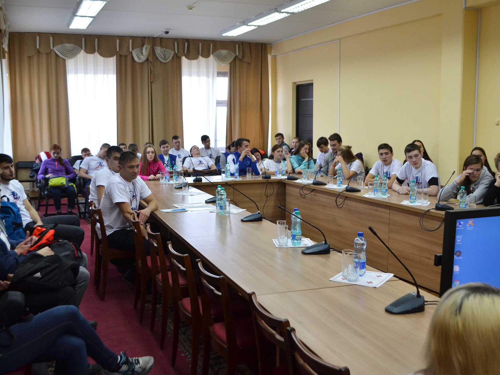 Мининские студенты на Форуме «Студенты ГТО»