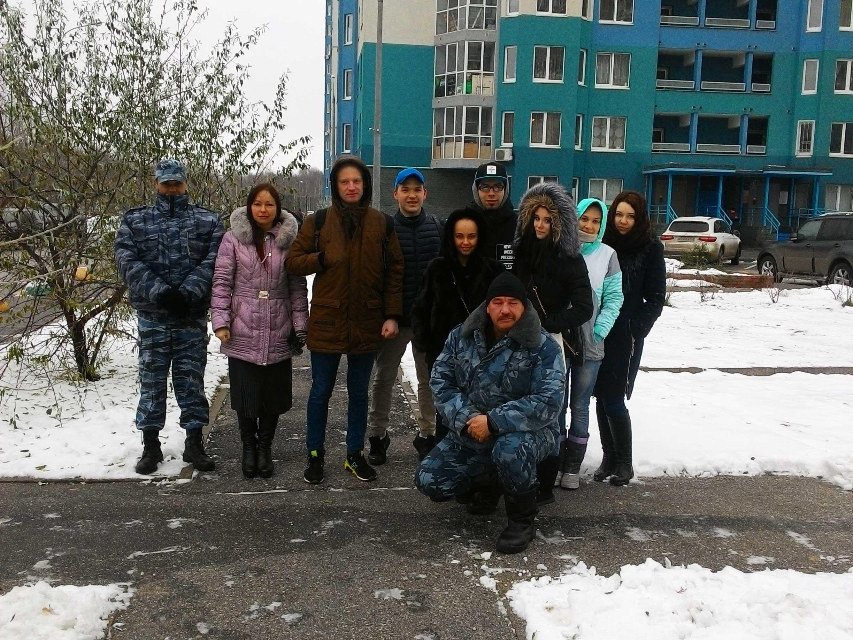 Студенты Мининского университета направления подготовки  «Сервис» в рамках проведения научно-исследовательских работ посетили ТСЖ «Водный мир»