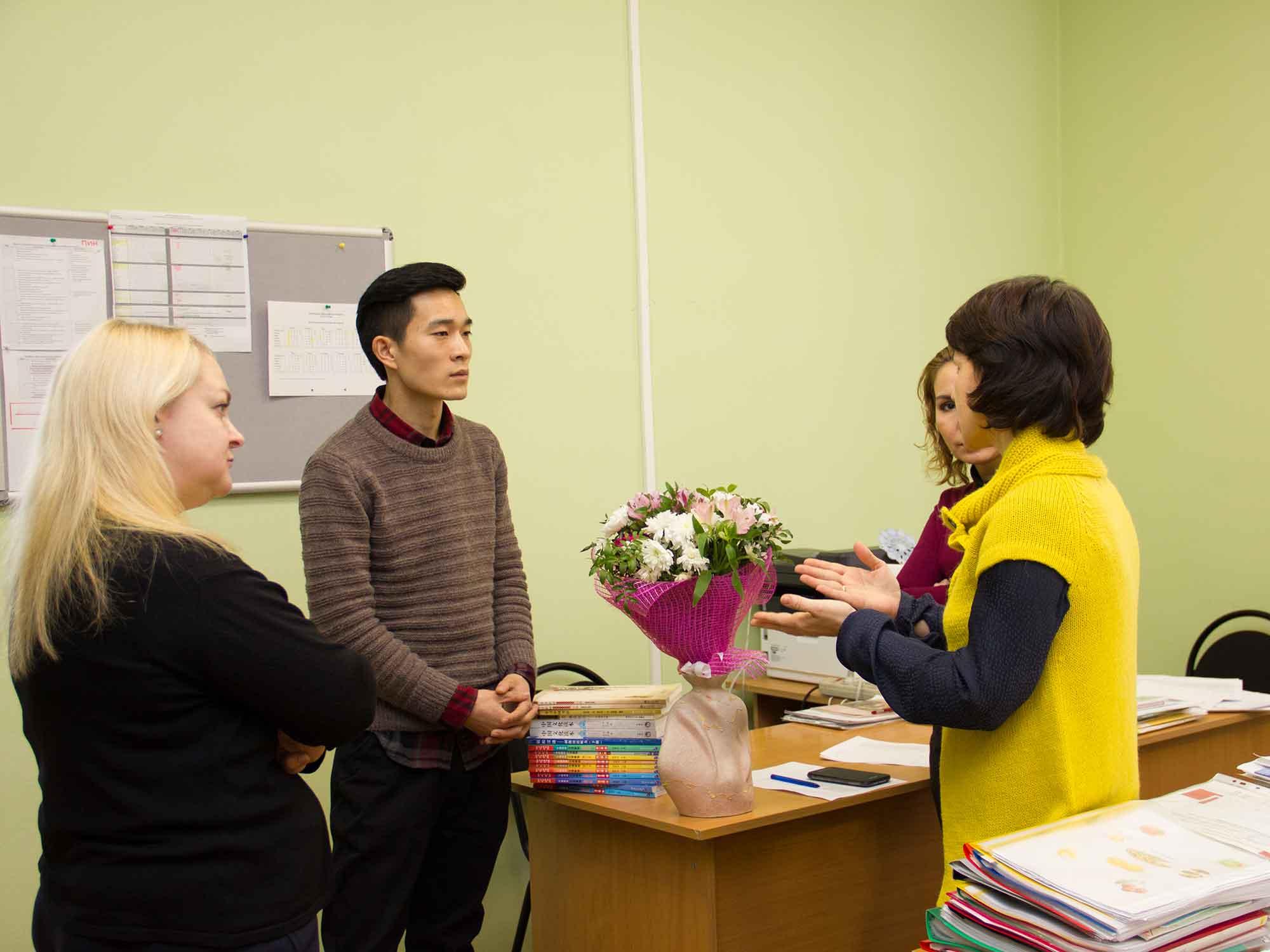 В Нижний Новгород приехал преподаватель китайского языка Ли Дун