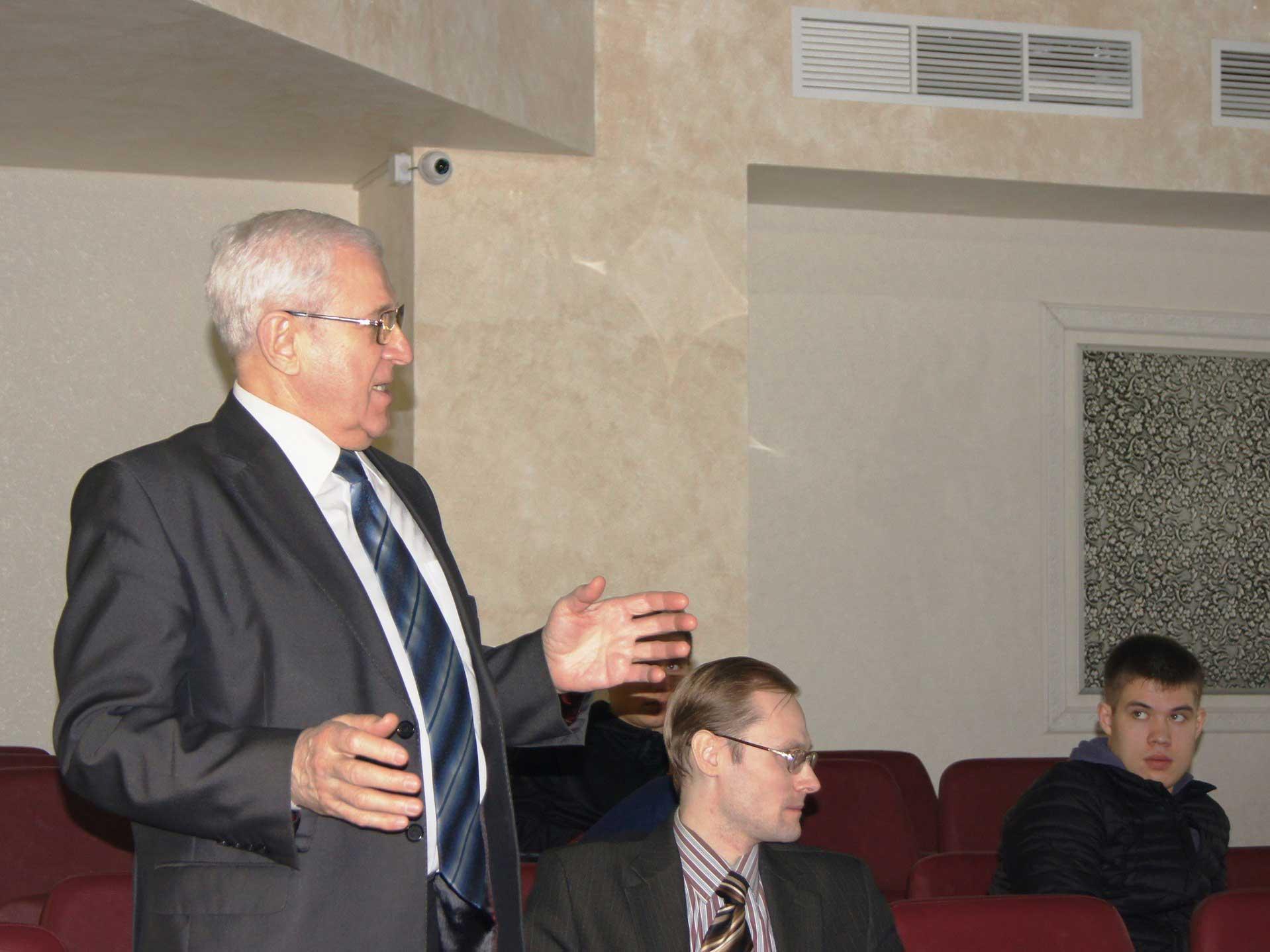 В Мининском университете прошла встреча студентов с представителями группы компаний «АГАТ»