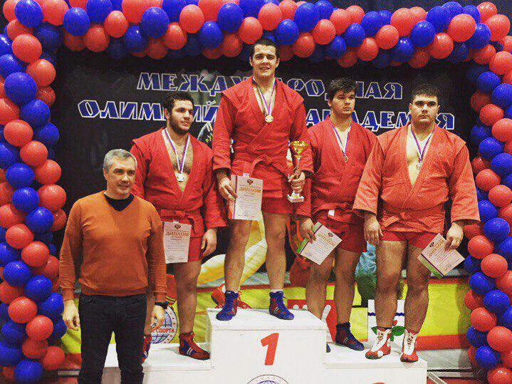 Студент Мининского университета одержал победу в Первенстве России по самбо среди юниоров