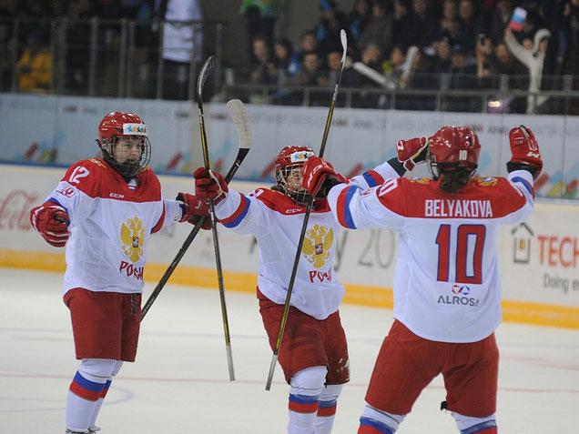 Женская сборная России по хоккею взяла золото в финале Универсиады-2017