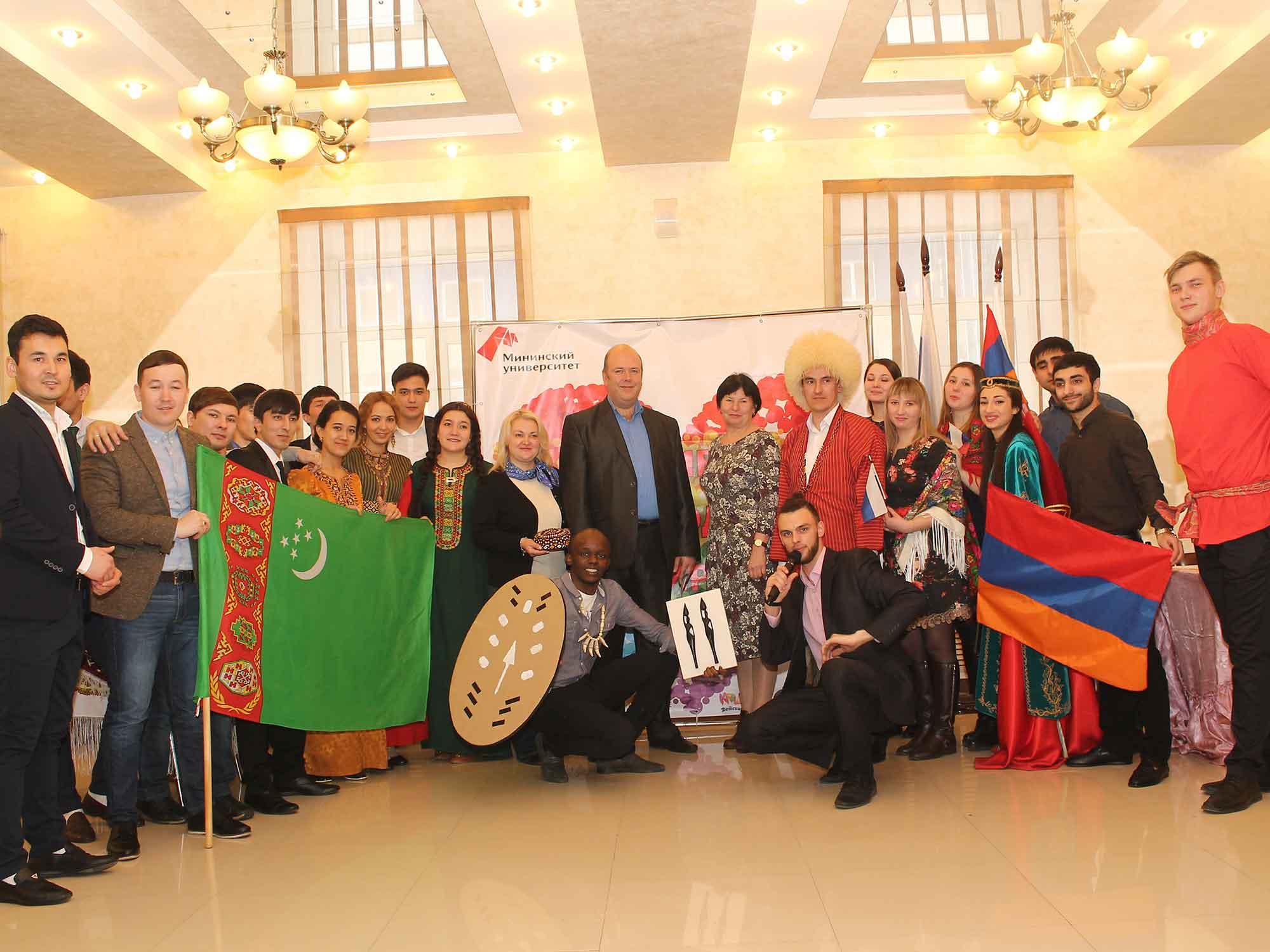 Фестиваль народов мира объединил студентов разных стран