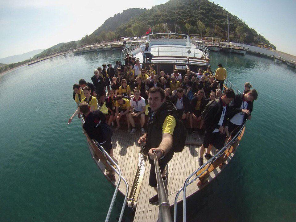 Студенты ФУиСТС вернулись со стажировки из Турции