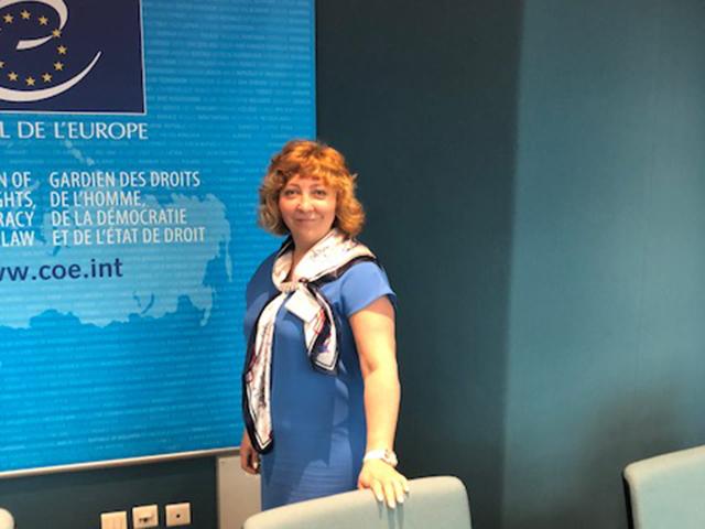 Заведующий кафедрой Мининского университета приняла участие в конференции при Совете Европы в г. Страсбург