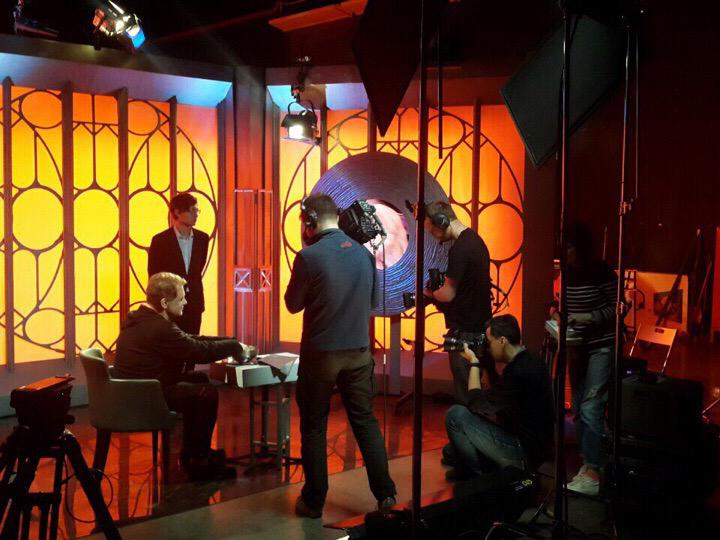 Студенты-продюсеры 2 курса прошли однодневную стажировку в Москве на съемках телешоу «Человек-невидимка»