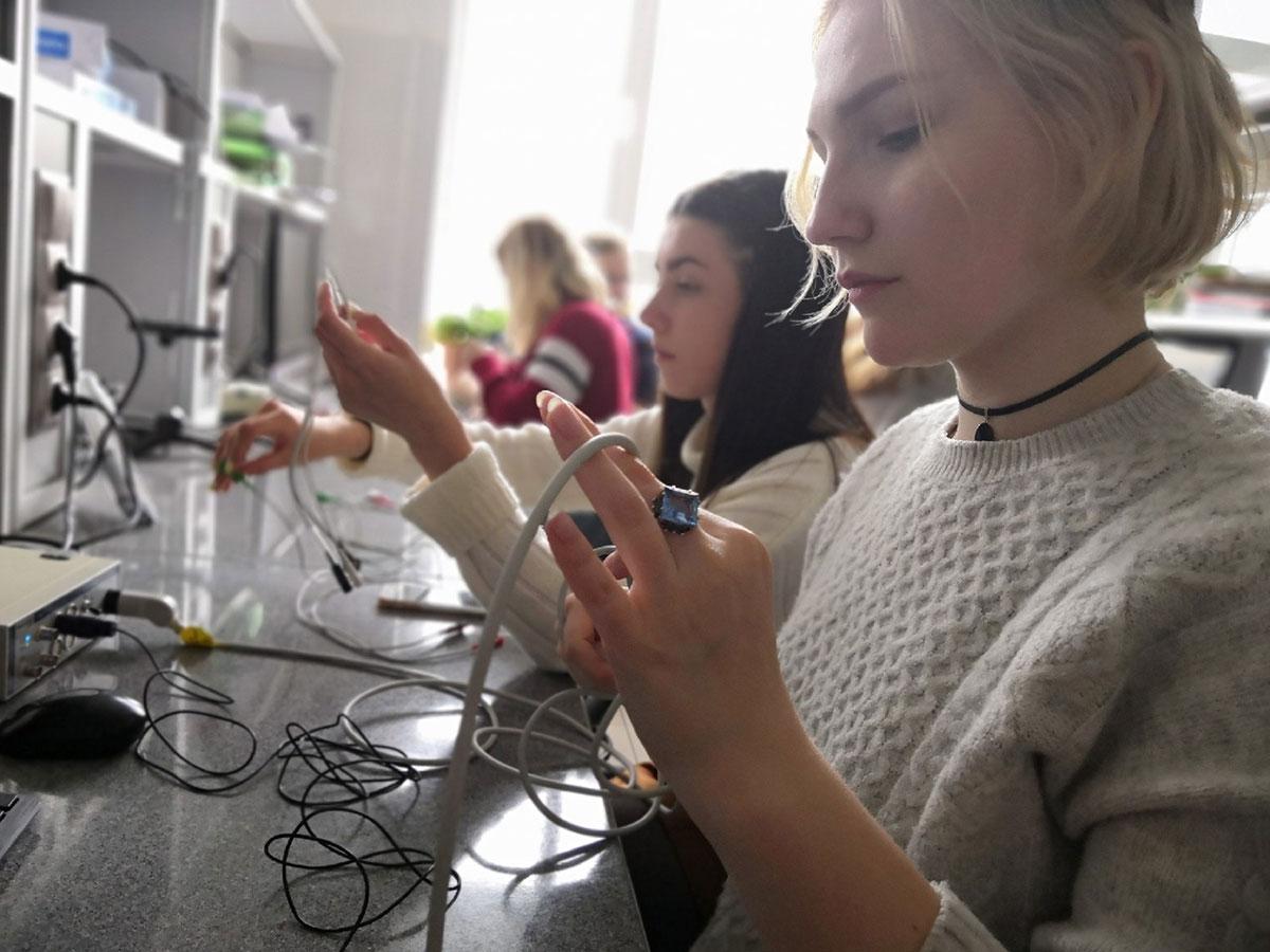 Студенты-биологи 3 курса Мининского университета прошли научно-исследовательскую практику на базе Института живых систем Балтийского федерального университета им. И. Канта в г. Калининграде