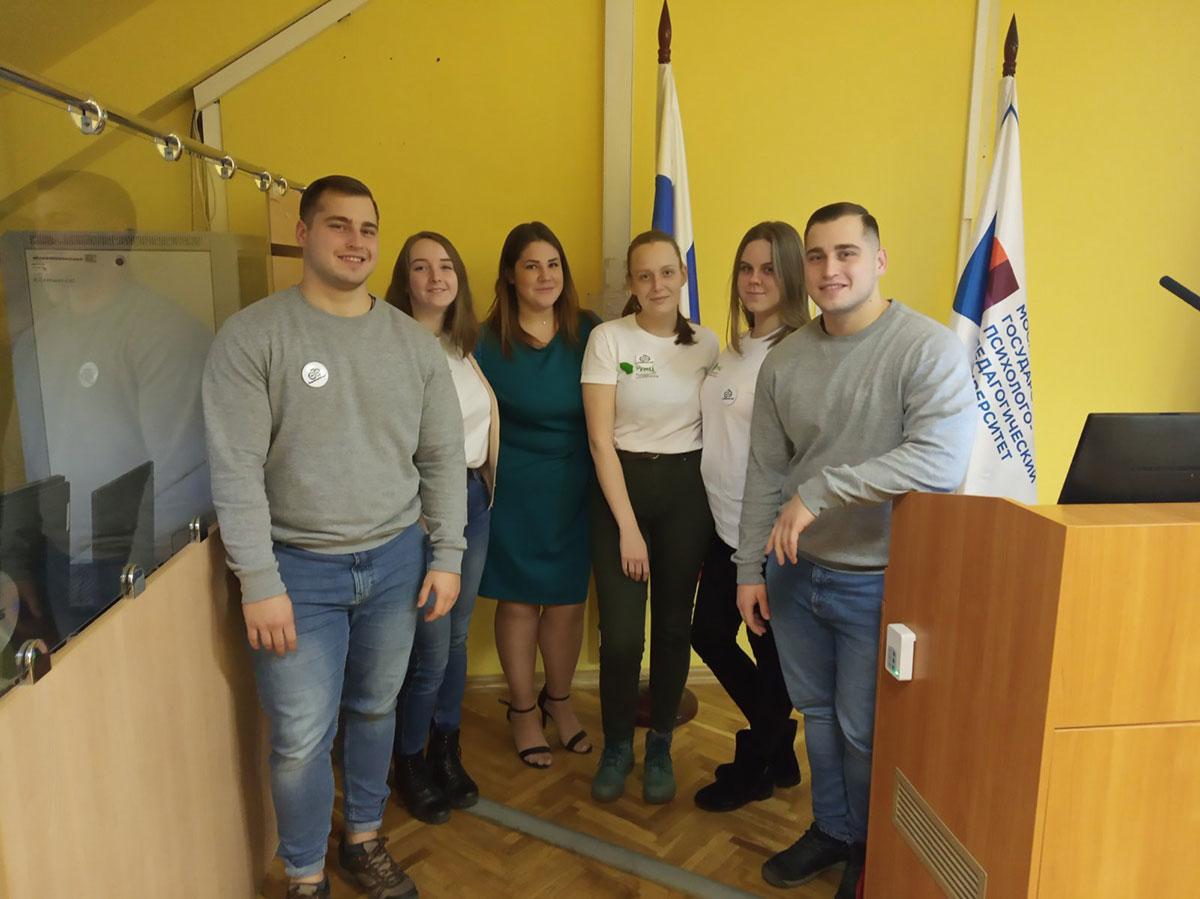 Мининский университет представил студентам вузов-партнеров РУМЦ МГППУ лучшие позитивные практики в сфере инклюзивного волонтёрства
