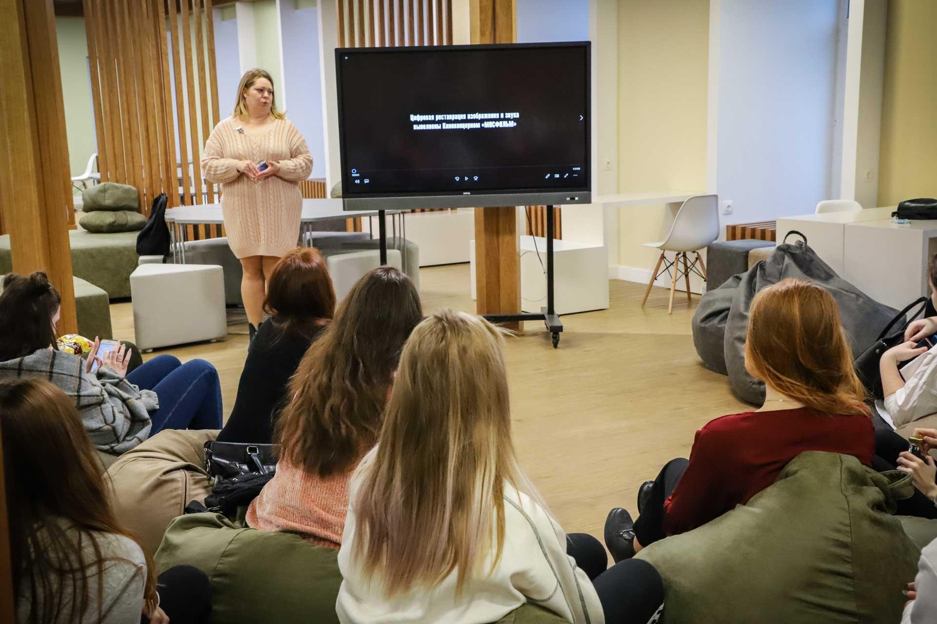 В Мининском университете прошли кинопоказы военных фильмов и круглый стол на тему «Город Горький в годы Великой Отечественной войны»