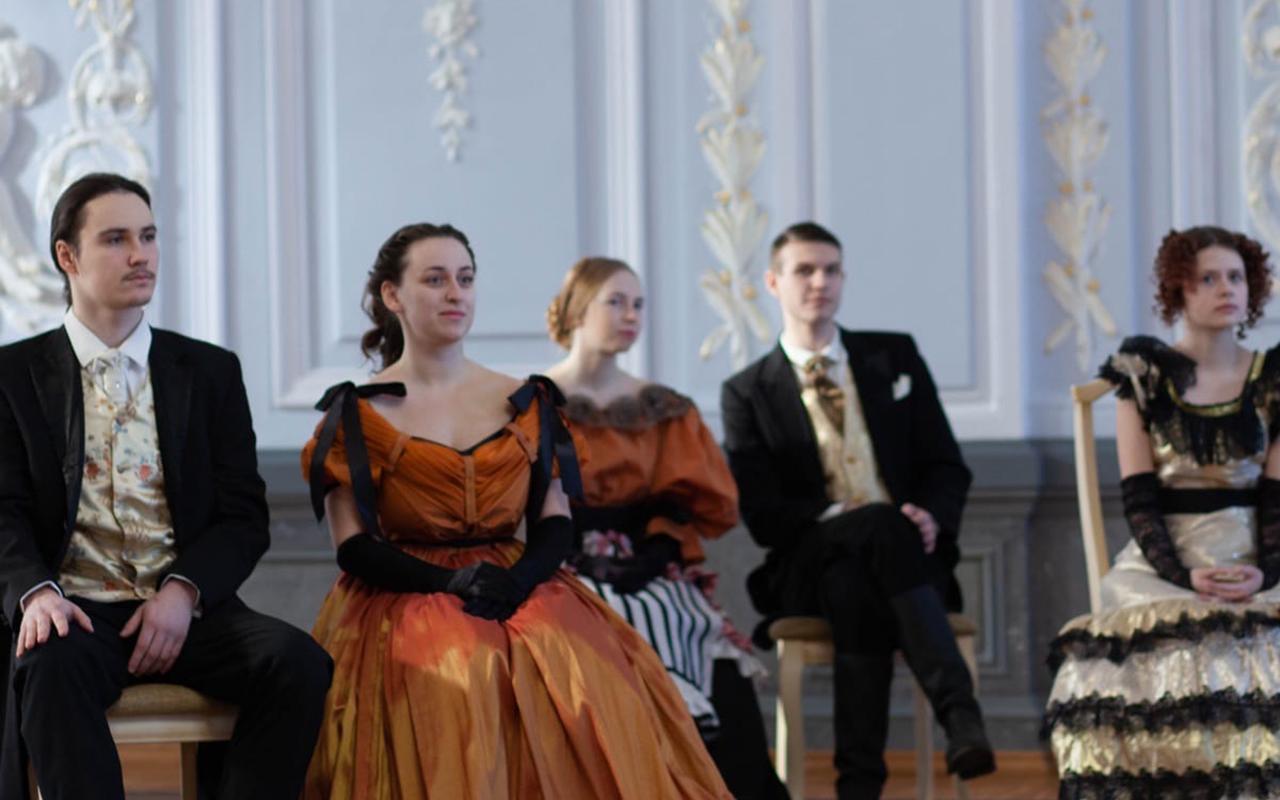Прошли первые съемки проекта студентов-продюсеров о нижегородском художнике XIX века Дмитрии Яковлевиче Быстрицком!