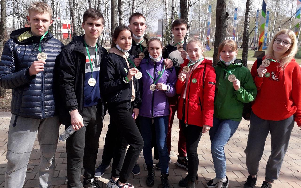 Студенты Мининского университета приняли участие во всероссийской экологической акции «ГЕН уборки»