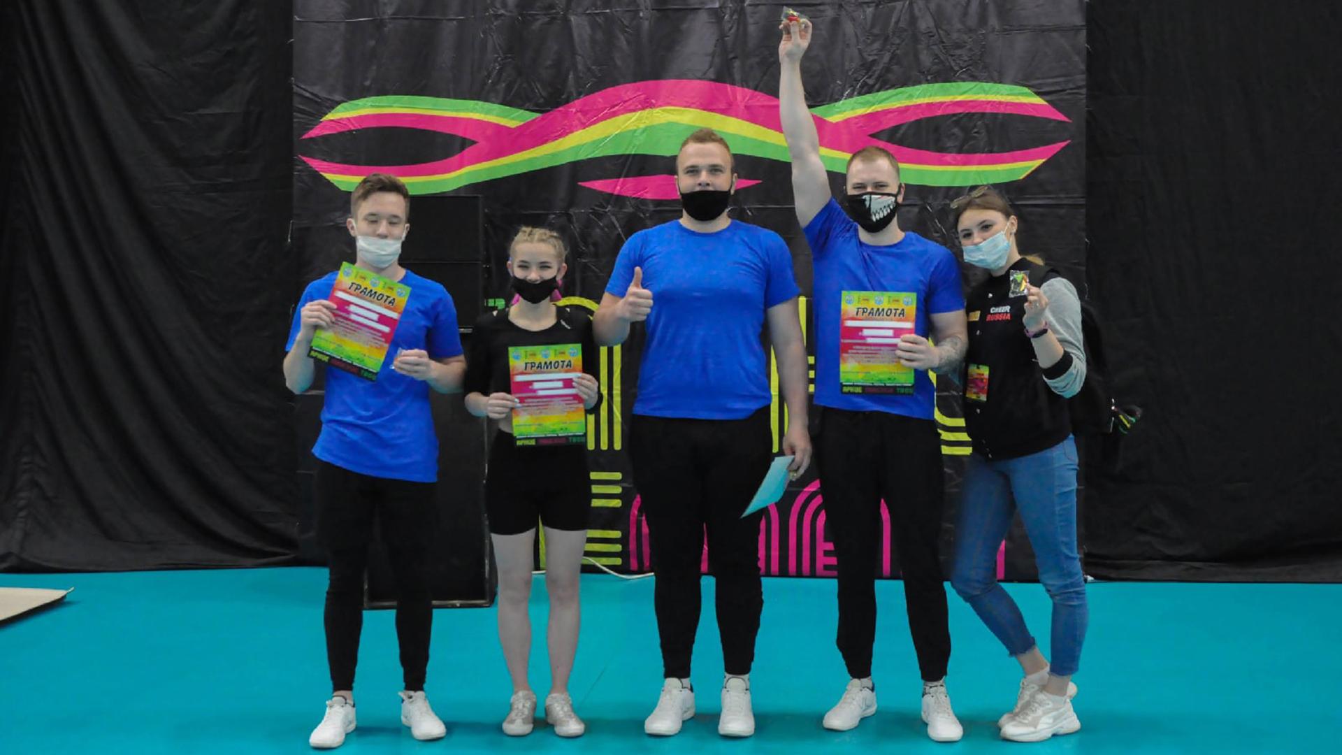 Команда Мининского университета по чир-спорту приняла участие в соревнованиях