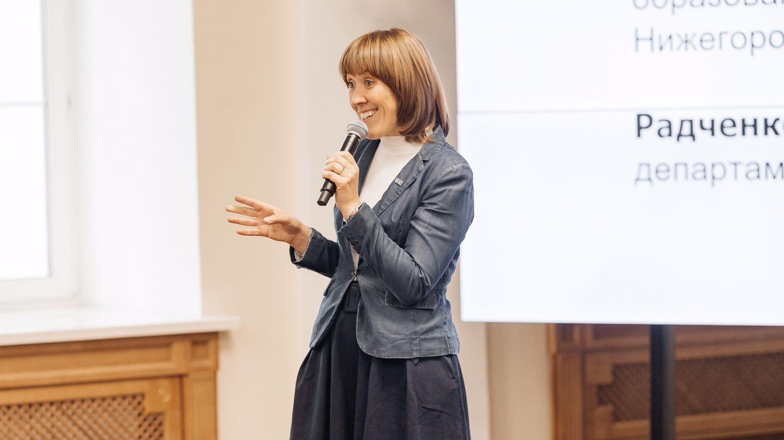 В Мининском университете прошла встреча студентов старших курсов с министром образования Нижегородской области