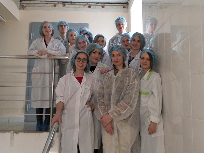 Студенты ФУиСТС побывали на предприятии ООО «Эхо»