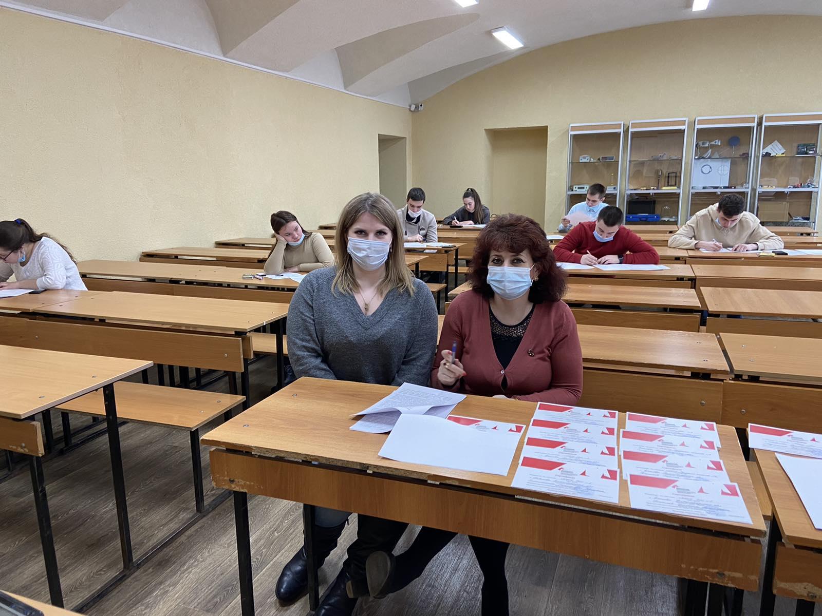 В Мининском университете прошла ежегодная вузовская школьная олимпиада по химии
