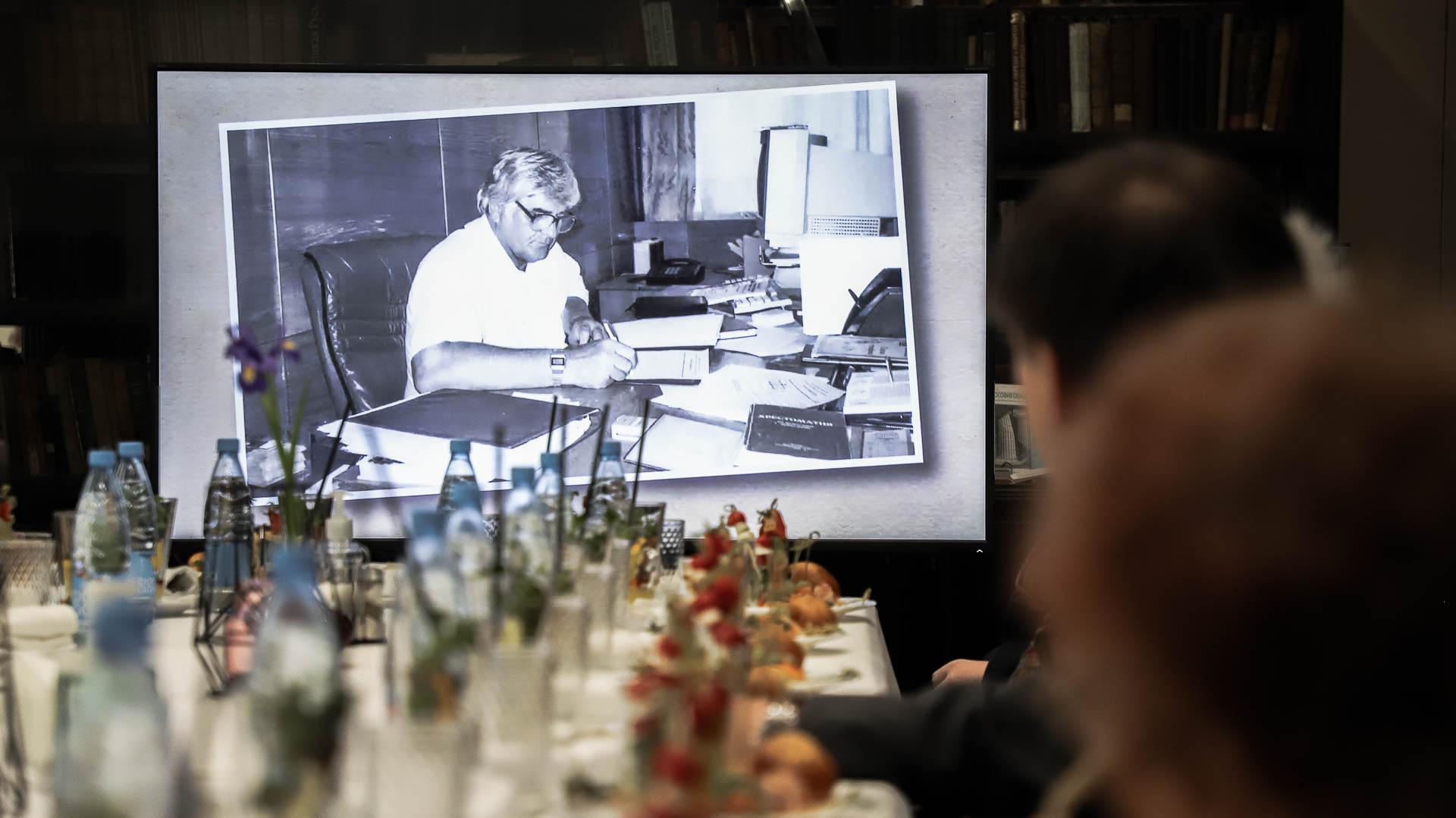 В Мининском университете прошла церемония открытия мемориальной аудитории имени Виктора Андреевича Глуздова