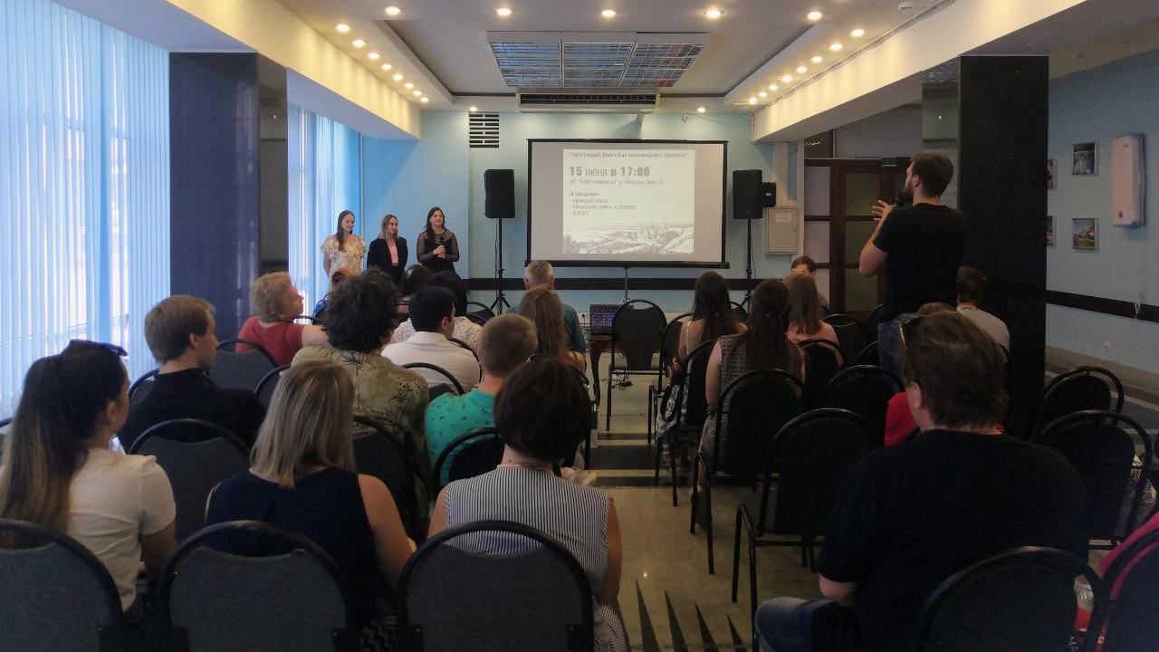 Выпускники специальности «Продюсерство» организовали открытый показ авторского фильма «Быстрицкий. Каким был нижегородский художник»