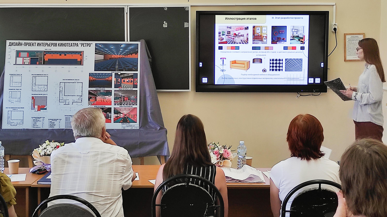 Итоги защит выпускных квалификационных работ студентов кафедры декоративно-прикладного искусства и дизайна