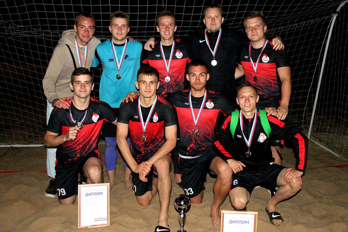 Мининский университет - призер Чемпионата области по пляжному футболу