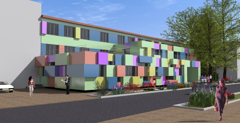 На кафедре средового и графического дизайна был представлен дизайн-проект Детской художественной школы