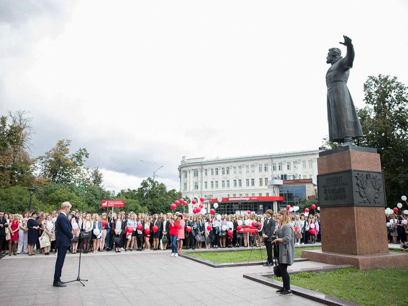 В Мининском университете прошёл День знаний для первокурсников