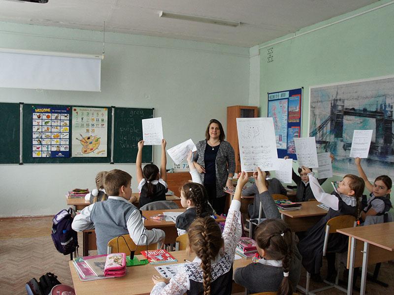 Серия мастер-классов для преподавателей английского языка и учащихся младшего и среднего звена «Доскинской школы»