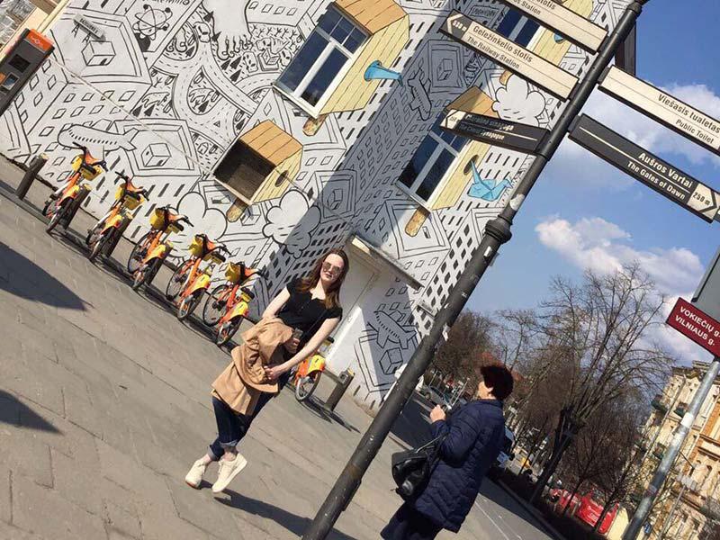 Студентка Мининского университета рассказала об учёбе в Вильнюсе
