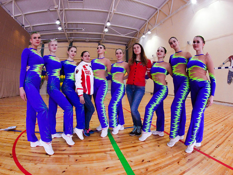 На Универсиаде по фитнес-аэробике команда Мининского университета заняла 2-е место