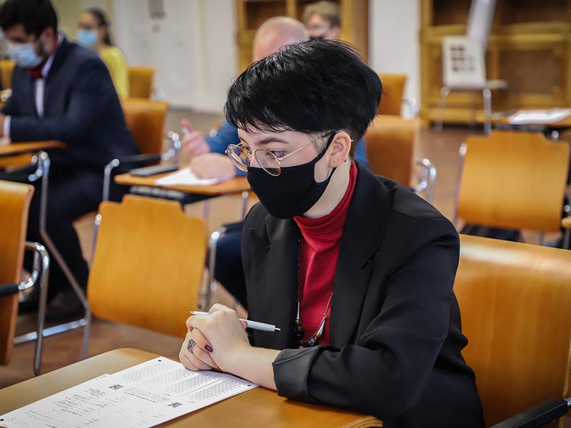 Географический диктант написали в Мининском университете