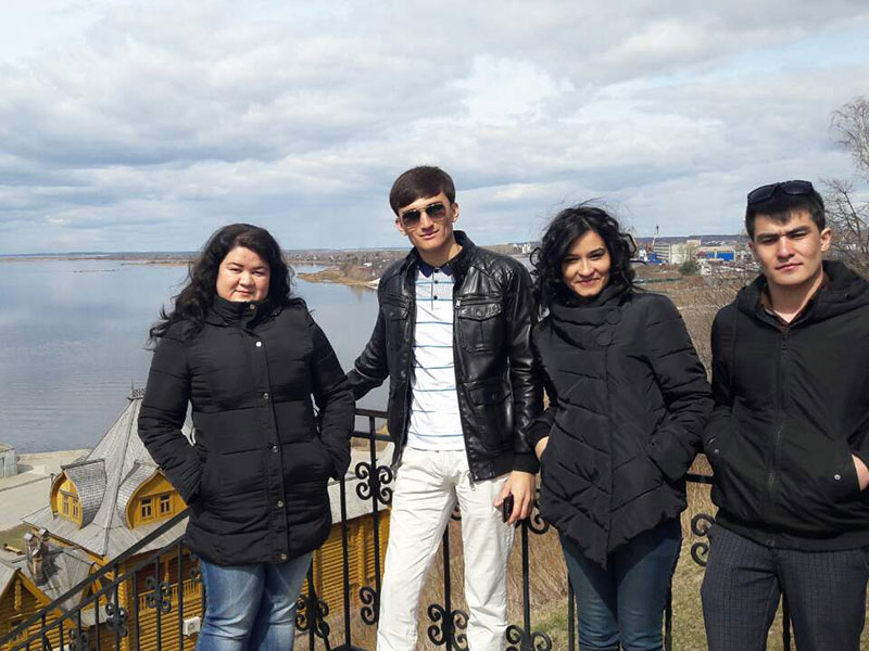 Иностранные студенты группы РКИ-16 побывали на экскурсии в Городце