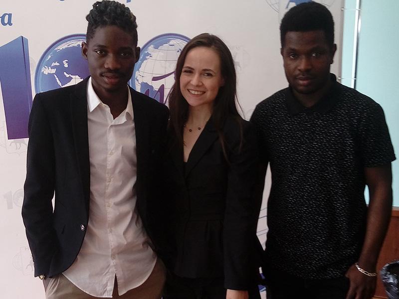 Иностранные студенты Мининского университета приняли участие в Международном фестивале национальных культур