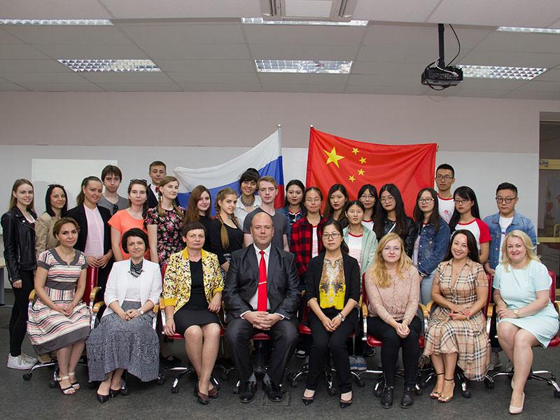 Летняя школа языка и культуры России проходит в университете