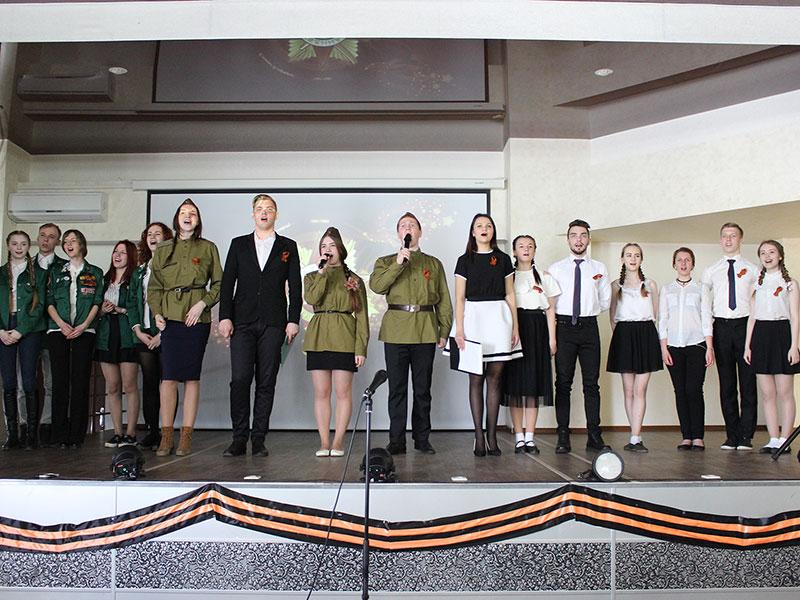 Митинг, посвященный дню Победы в Великой Отечественной войне прошёл на факультете управления и социально-технических сервисов