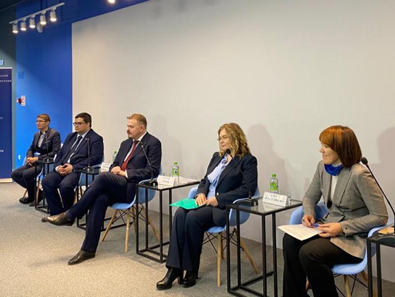 Елена Илалтдинова обсудила повышение качества образования на «удаленке»