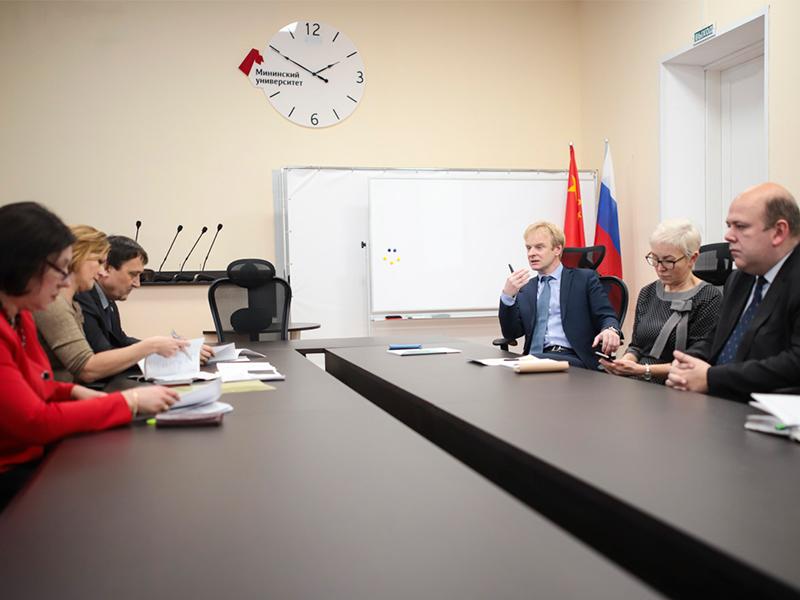 Руководство Мининского университета обсудило основные направления деятельности с администрацией города