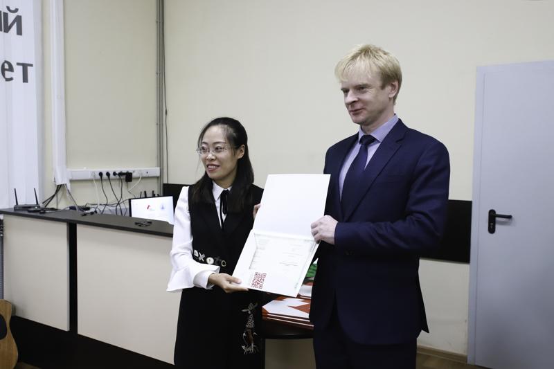 Преподаватели из Китая в течение двух недель перенимали опыт коллег из Мининского университета