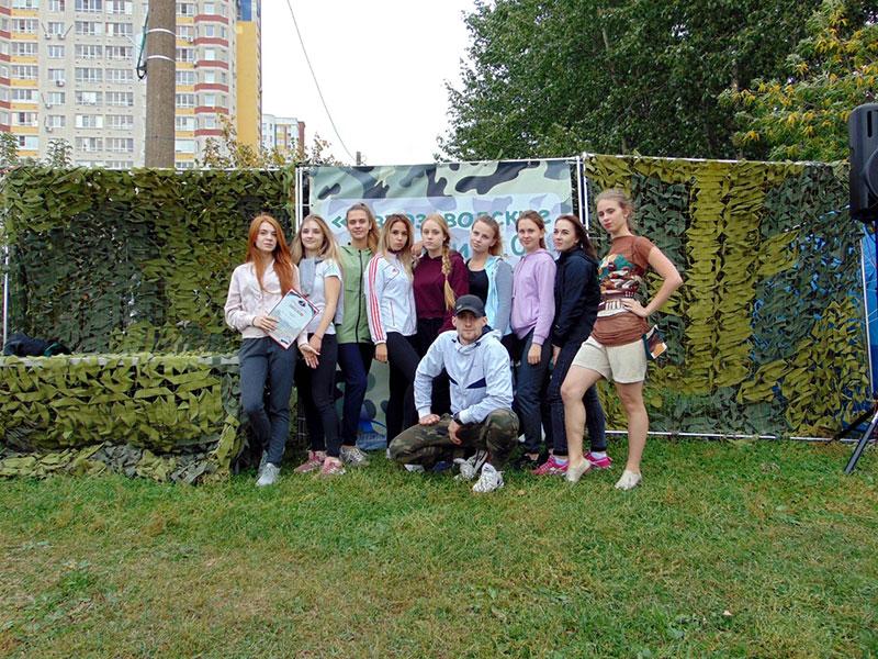 Студенты ФУиСТС приняли участие в спортивно-развлекательном мероприятии «Автозаводские амазонки 2.0 Реинкарнация».
