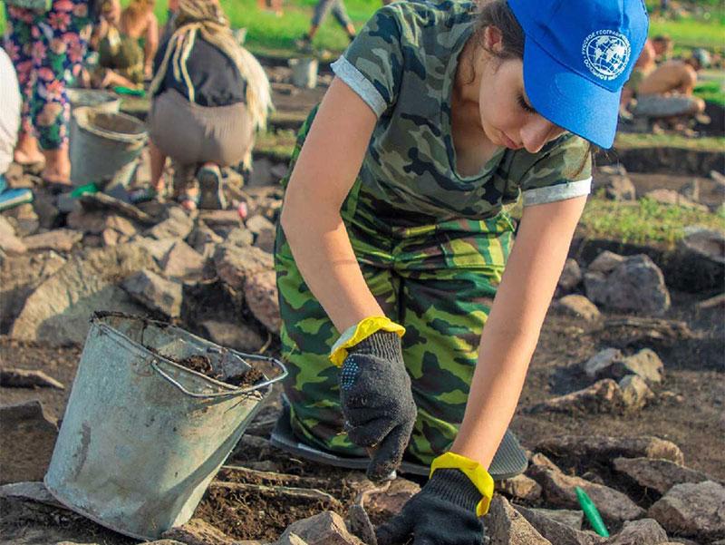 Студенты географы Мининского университета приняли участие в международной археолого-географической экспедиции
