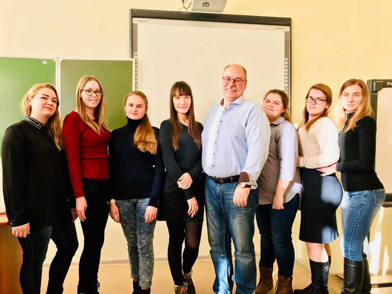 Студенты-биологи приняли участие в Днях науки в БФУ им. И. Канта