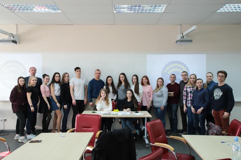 16 апреля в день экологических знаний в Мининском университете прошла игра интеллектуального клуба