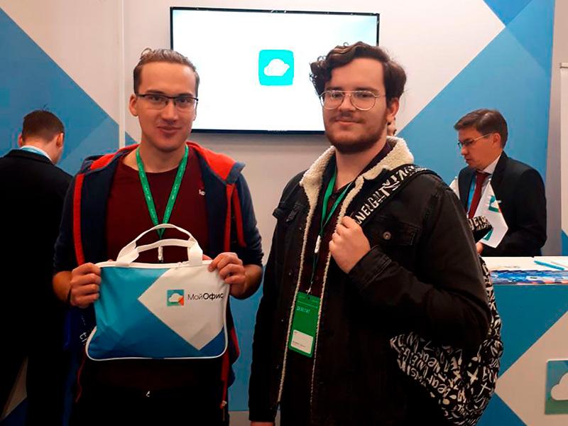 Студенты факультета естественных, математических и компьютерных наук посетили конференцию «Цифровая индустрия промышленной России»