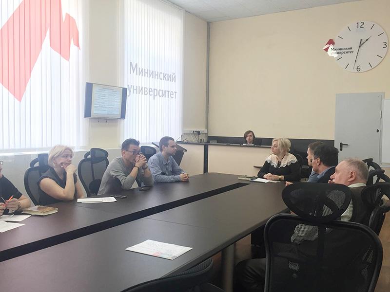 9 апреля состоялась встреча представителей Мининского университета и компании Cisco - мирового лидера в производстве сетевого оборудования