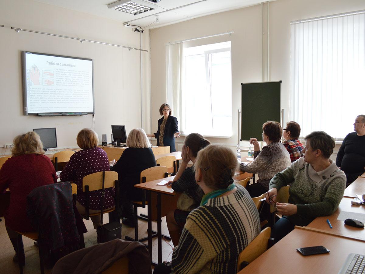 В рамках реализации проекта «Территория возможностей действует программа по повышению компьютерной грамотности