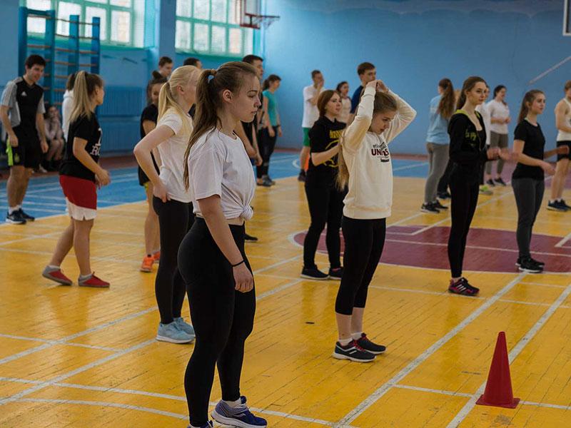 5 апреля в Мининском университете состоялся инклюзивный спортивный праздник «Спорт для Всех»