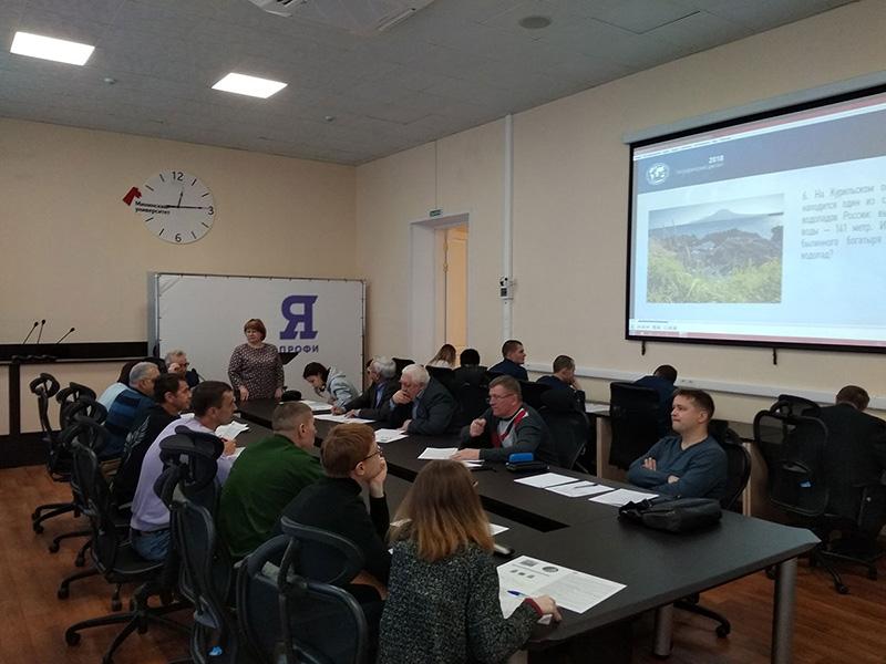 В Мининском прошла четвертая просветительская акция «Географический диктант»
