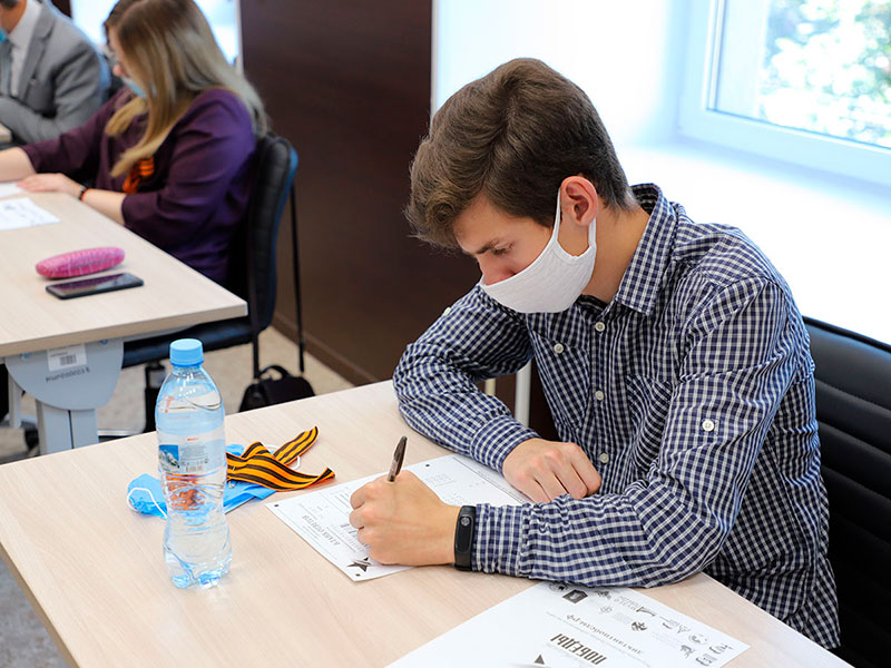 В Мининском университете написали «Диктант победы»