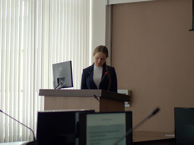 Студентка первого курса ФДИИМТ выступила с докладом на VIII Всероссийском Фестивале науки