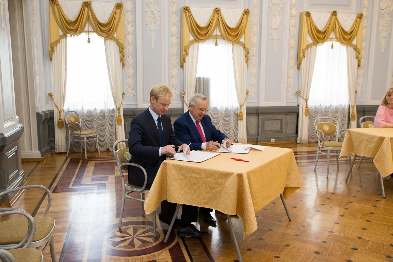 Мининский университет и Фонд развития НХП подписали соглашение о сотрудничестве